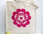 Sakura Canvas Bag - All Proceeds donated to Japanese Tsunami 2011 Victims