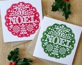 Noel Christmas Card Pack