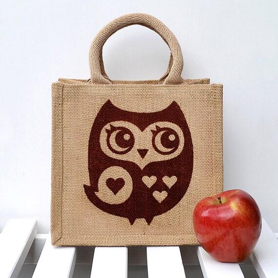 Owl Lunch Bag