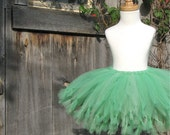 APPLETINI Tutu -spring or apple green- Pure and Knotty Collection by Whimsy Pie - tutus for children, Made to Order