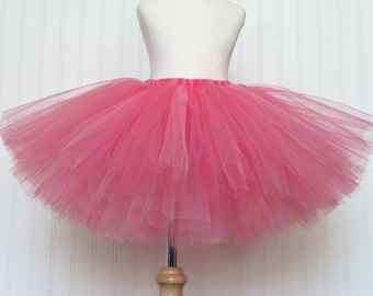 STRAWBERRY SWIRL CHEESECAKE Tutu - pink and coral tutu - Dessert Collection by Whimsy Pie - tutus for children, Made to Order, Valentine