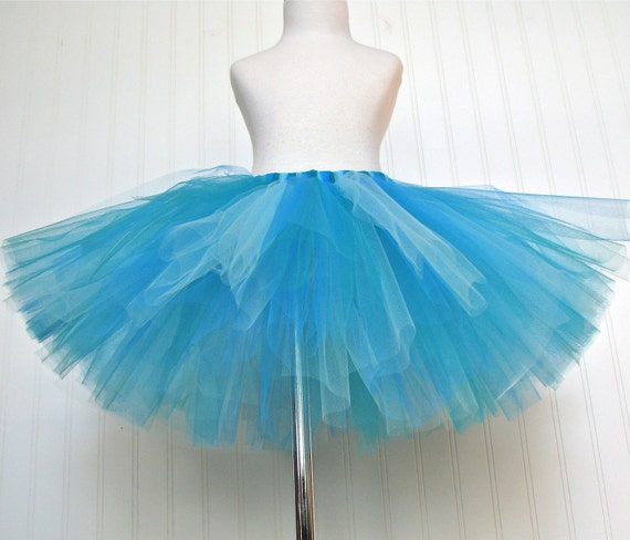 BLUEBERRY CHEESECAKE Tutu -turquoise aqua teal- Dessert Collection by Whimsy Pie - tutus for children made to order