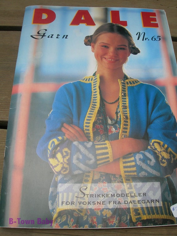 Dale of Norway Pattern Book 65