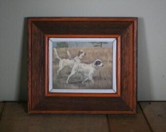 Vintage Dog Picture