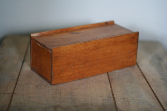 Vintage Hand Crafted Wooden Box