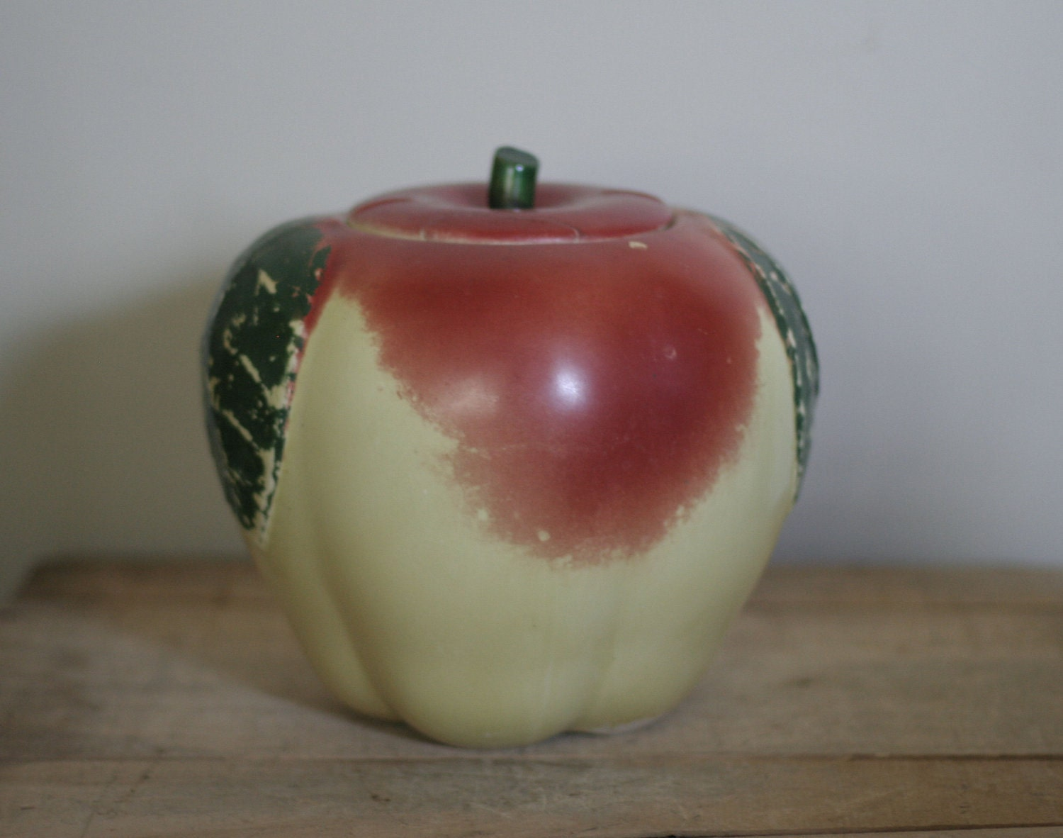 Vintage Hull Apple Cookie Jar