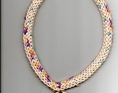 Knitted Hamster Necklace - 20 inch