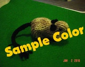 Knitted Gerbils - Pick Your Color