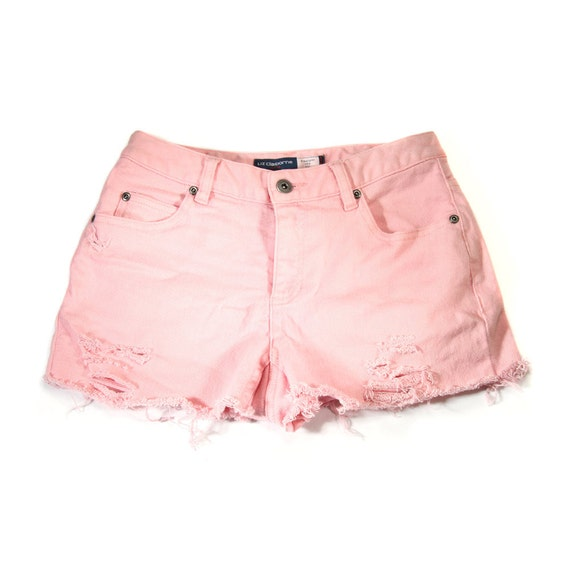 MADE TO ORDER: Studded Shorts Pink 27W