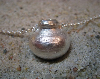 Artifact Inspired Tolima Vessel Fine Silver Necklace - Vessel Necklace - Tolima Necklace - Archaeology