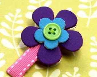 Little flower clip