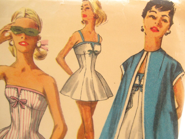 Vintage Bathing Suit Pattern 15