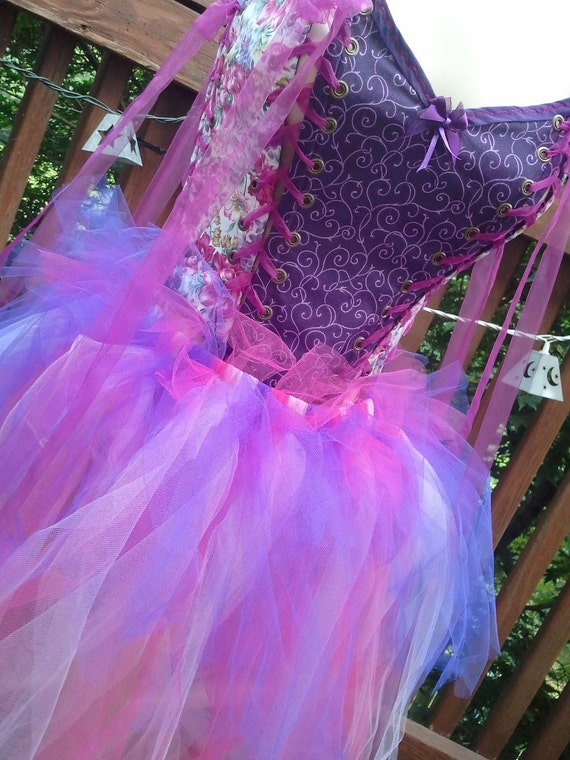 SALE  TaTtErEd FaErY TUTu   matches: BoDiCe 6 PaNeL FuLLY ReVeRsIbLe AnD oR mIX & mAtCh