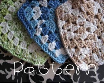 PATTERN- PDF- Hot Mama Trivet- Crochet
