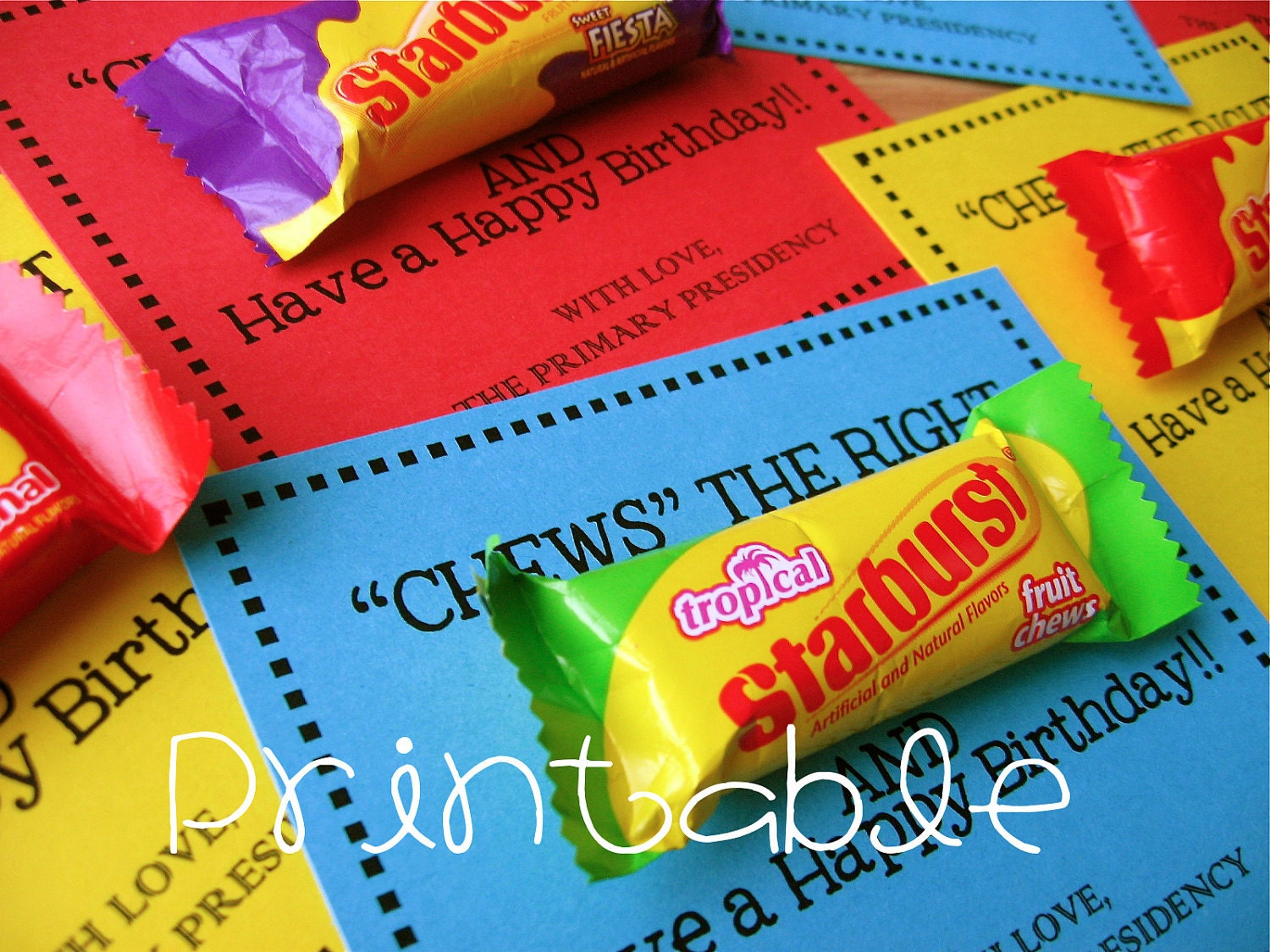 Printable pdf chews the right lds primary birthday gift for Idea door primary printables