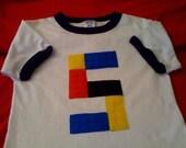 Lego/Block Ringer t-shirt for Toddler and Kids (order for Elisandra)