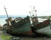 Fine Art Giclee Photograph - Ship Wreck II - 15x20 image size on 20x24 paper