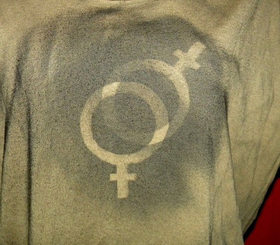 Women's Issues Lesbian Gay Marriage Political Upcycled T Shirt Tank Top X Large Free Size