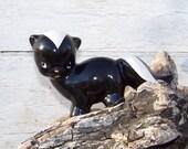 RESERVED for Karen - Vintage 1950s, 1960s porcelain skunk figurine, Peppy LePew , knick knack, kitsch on Etsy