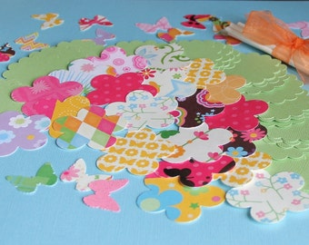 Make Your Own Butterfly Cupcake Toppers (25 Toppers)
