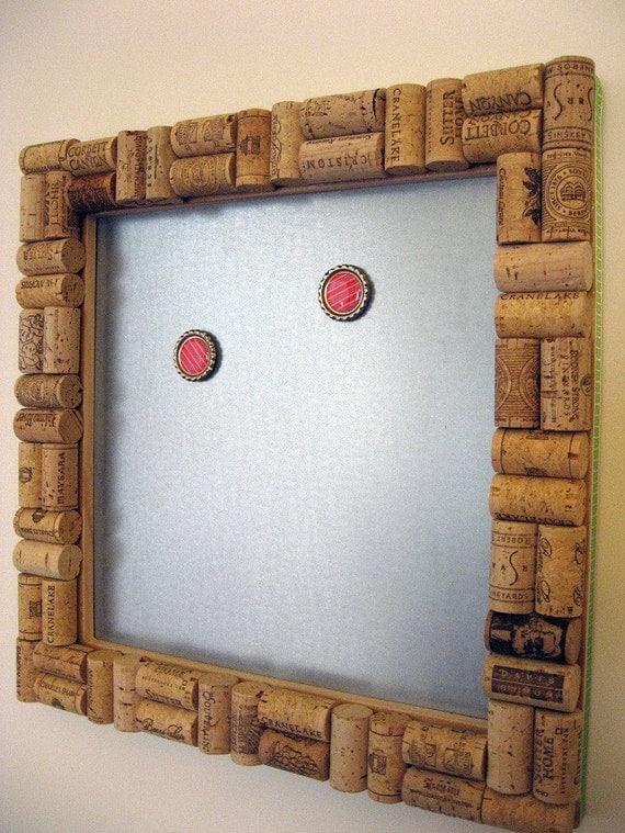 Magnetic Wine Cork Board