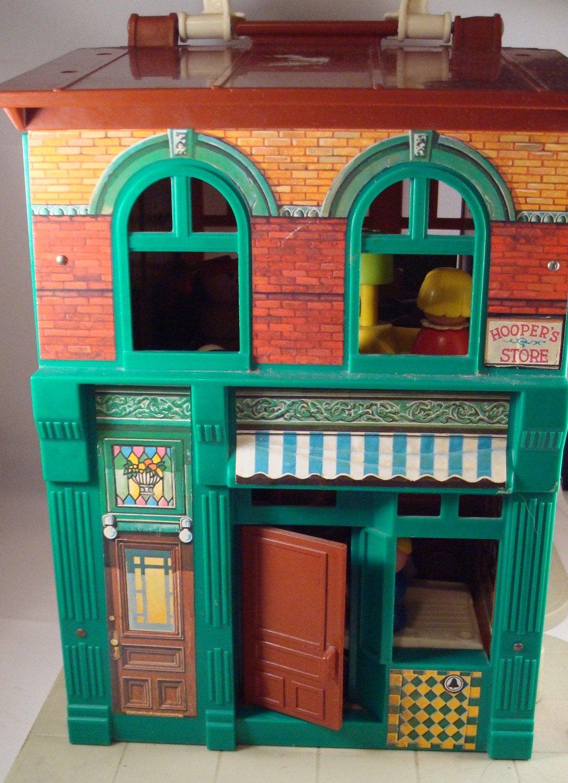 Vintage Fisher Price Little People Sesame Street By Serine23
