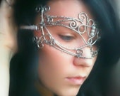 Silver Dreams Masquerade Mask