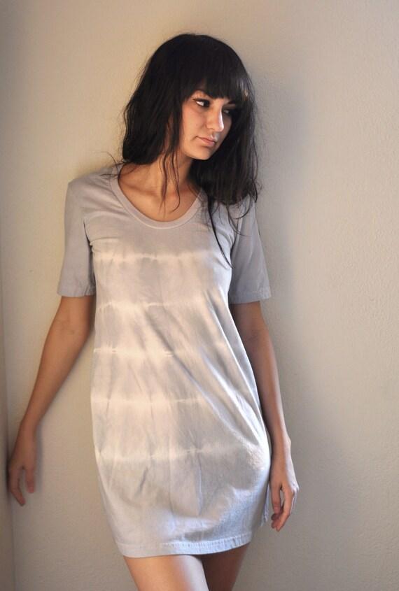 Light Rays White Stripe Day Dress