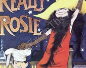 Vintage MAURICE SENDAK Large Poster Print 'Really Rosie', Adorable, Perfect for Framing, Broadway, Chelsea Theatre, New York