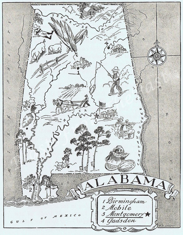 vintage alabama map – bnhspine.com