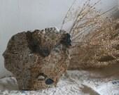 "Vase4  ""A landscape in my memory""   handmade ooak sculpture"
