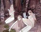 fairy folk (print)