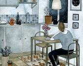 Kitchen (print)