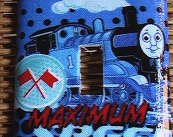 Thomas the Tank Engine Train Single Toggle Light Switch Plate Cover