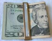 SALE Vintage Snazzy Money Clip