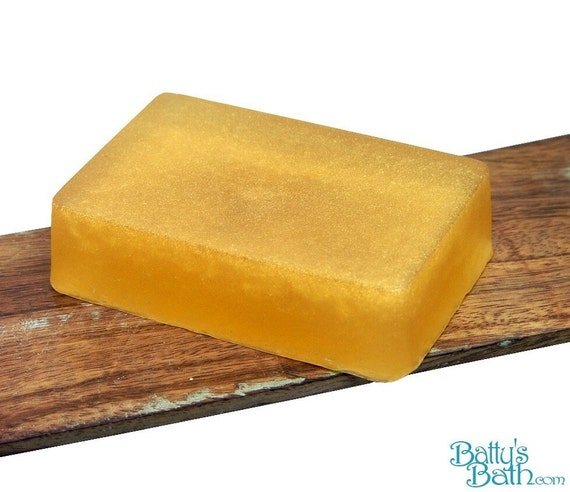 Patchouli Glycerin Soap Handmade with ESSENTIAL OIL for Problem Skin