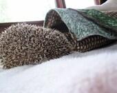 Beige Hedgehog Sleeping Bag