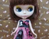 Pink poodle dress for blythe