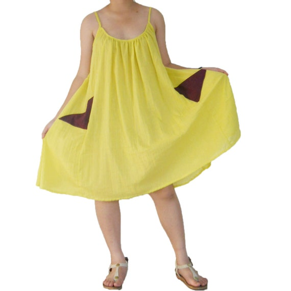 Yelow  Sexy  Dress or Top