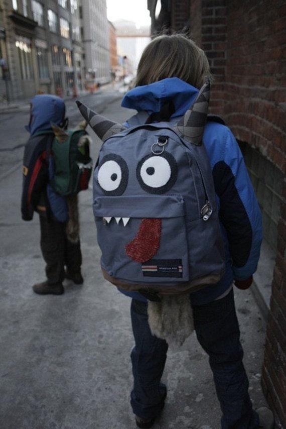 CUSTOM Monsterpak monster backpack