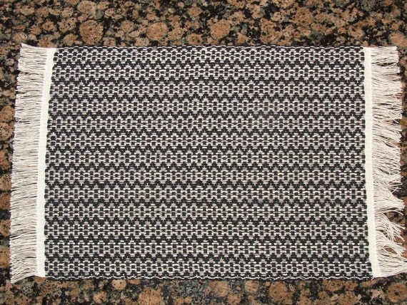 Handwoven Placemats - Black