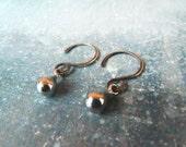 Lucrezia's Secret. Sterling Silver Teardrop Dangle Earrings
