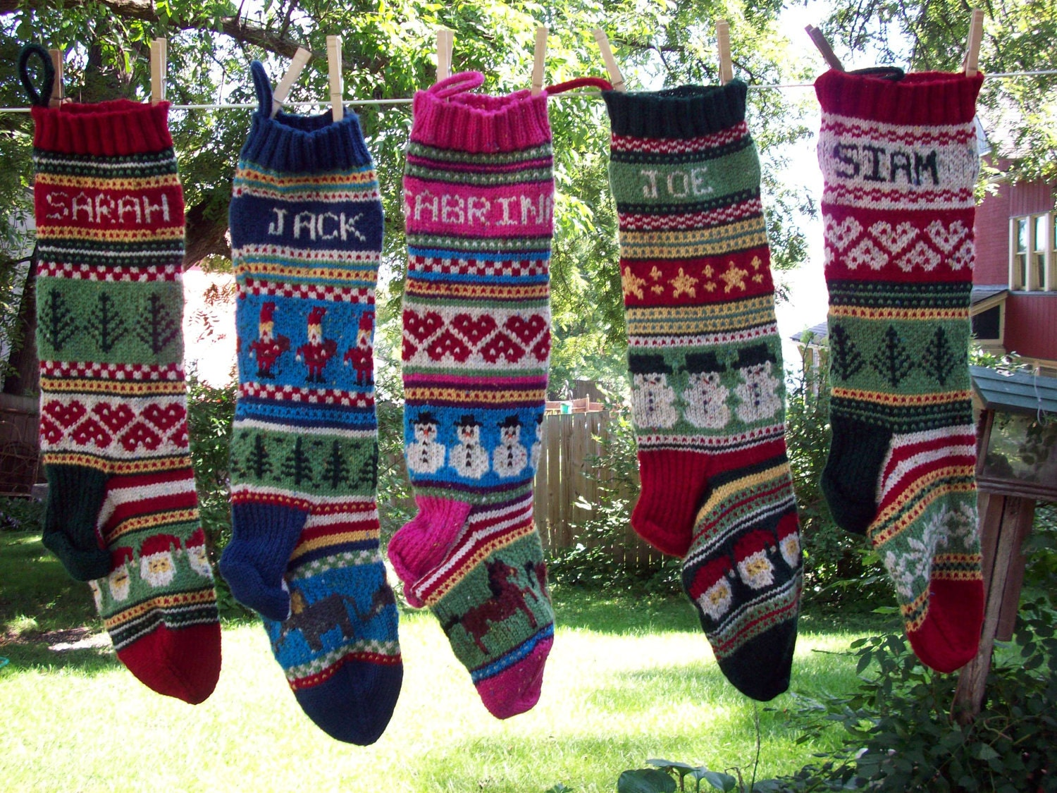 Personalized Christmas Stockings Etsy