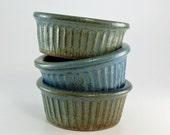 Stoneware Bowls - Set of 3 - Handmade Bowls - Ceramic Bowls - Prep Bowls - Pottery Bowls