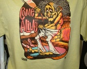 vintage t shirt come alive party animal