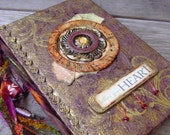 Journal   Follow your Heart  with Beads