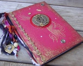 Journal Red with Koi Fish
