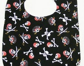 Jolly Roger - Large Baby Bib
