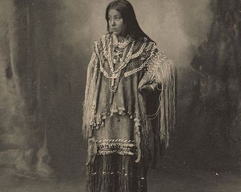 American Indian Hattie Tom Chiricahua Image 8 1/2 x 11 Image