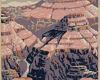 Grand Canyon digital image